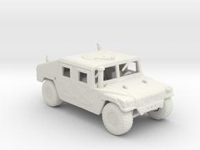 m966a1 160 scale in White Natural Versatile Plastic