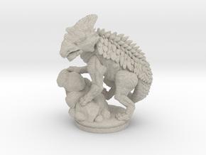 Armored_Dragon in Natural Sandstone