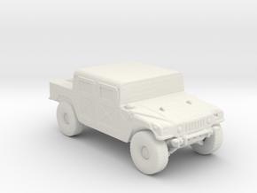 M998A1 160 scale in White Natural Versatile Plastic