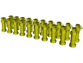 1/48 scale M-84 stun flashbang grenades x 20 in Smoothest Fine Detail Plastic