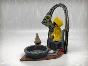 Little Nightmares - Shadow Projector in Glossy Full Color Sandstone