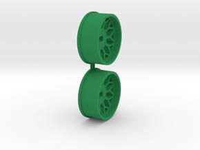 Offset-2,0-front-BBS-Rims-MiniZ-AWD in Green Processed Versatile Plastic