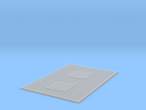 YT1300 BANDAY PG HOLD FLOOR GRILLE in Smooth Fine Detail Plastic