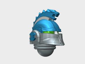 10x Hydra Legion - Ferrum Helmets in Smooth Fine Detail Plastic