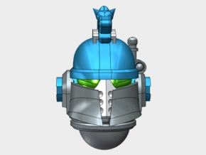 10x Hydra Legion - Ferrum Coms Helmets in Smooth Fine Detail Plastic