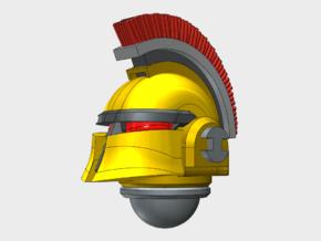 10x High Crested - Ferrum Helmets in Smooth Fine Detail Plastic
