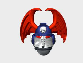 10x Nightmare - Ferrum Helmets in Smooth Fine Detail Plastic