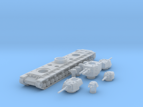 KV 6 scale 1/144 in Smooth Fine Detail Plastic