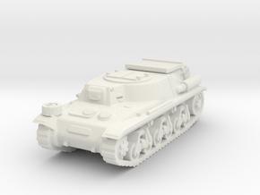 Munitionsschlepper 38 H scale 1/100 in White Natural Versatile Plastic
