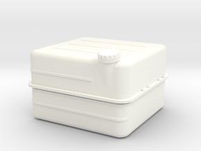 Unimog Tank 6xLi Ion 1:10 in White Processed Versatile Plastic