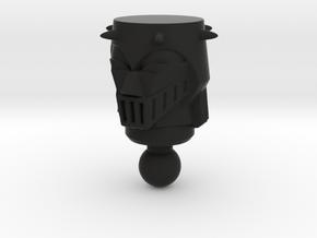 Galactic Defender Baron Karza Head in Black Natural Versatile Plastic