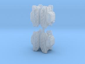 TK-3 shapeways 1:700x4 in Smooth Fine Detail Plastic