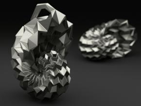 ORI*Universe Origami Pendant in Polished Silver