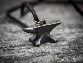 Anvil Pendant - Særlig in Matte Black Steel