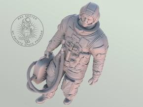 Apollo Astronaut Ready For GO / 1:12 / 1:25 in White Natural Versatile Plastic: 1:12