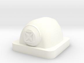 Mini Space Program, Buried Module in White Processed Versatile Plastic