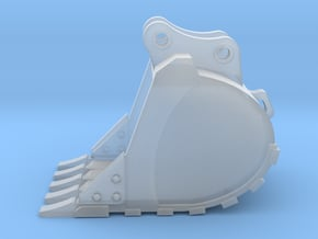 """1:50 36"""" PC138 digging bucket.  in Smooth Fine Detail Plastic"""