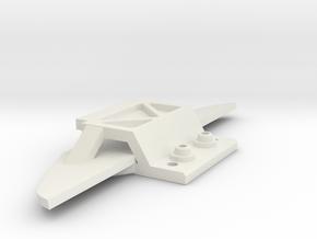 Jomu Body Front für Stanard Achse in White Natural Versatile Plastic
