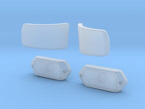 Blinker Unimog in Smoothest Fine Detail Plastic
