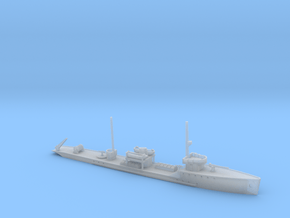 1/600th scale Fugas class soviet minelayer ship in Smooth Fine Detail Plastic