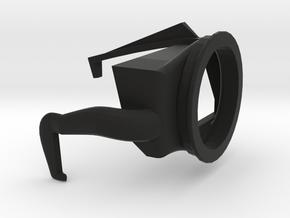 Eyecup adaper for Fuji X-E3 in Black Natural Versatile Plastic