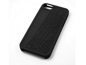 West Village/ Soho NYC Map iPhone 5/5s Case in Black Natural Versatile Plastic