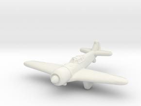 La-5 Fighter (Russia) in White Natural Versatile Plastic