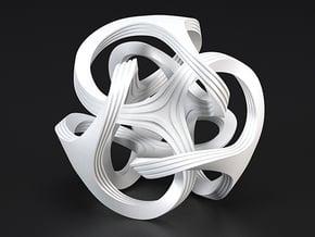 Ora, textured in White Processed Versatile Plastic