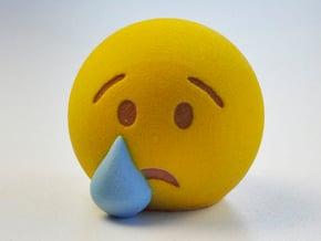 3D Emoji Tears in Full Color Sandstone