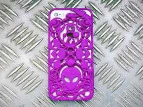EBE iPhone 5 Cover in Purple Processed Versatile Plastic
