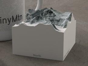 Mt. Everest, China/Nepal, 1:150000 Explorer in Natural Full Color Sandstone
