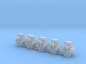Blown Engines Set in Smooth Fine Detail Plastic