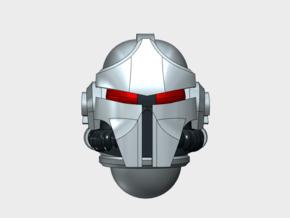 10x Base - Nicopolis Helmets in Smooth Fine Detail Plastic