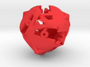 Crab claw d12 in Red Processed Versatile Plastic