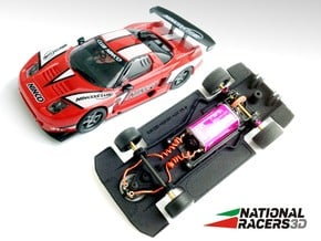 3D Chassis - NINCO HONDA NSX (Combo) in Black PA12