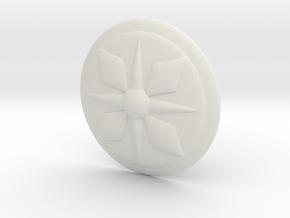 Chill Shield in White Natural Versatile Plastic