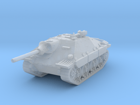Jagdpanzer 38t Hetzer scale 1/160 in Smooth Fine Detail Plastic