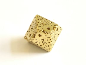 D10 Balanced - Lace in Natural Brass