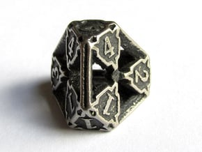 Premier d4 in Polished Bronzed Silver Steel