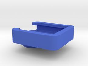 Binocular-phone attachment - Digiscope Right Half in Blue Processed Versatile Plastic