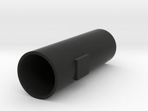 Pipe/Rør for Honey Mod in Black Natural Versatile Plastic
