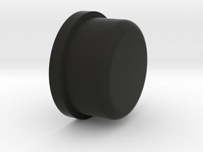 Honey Mod Button in Black Natural Versatile Plastic