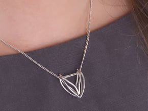 sWINGS Fine, Pendant. Pure Elegance. in Polished Silver