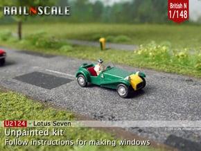 Lotus Seven (British N 1:148) in Smoothest Fine Detail Plastic