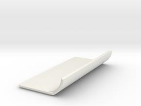 Door in White Natural Versatile Plastic