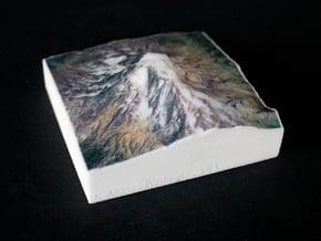 Mt. Adams, Washington, USA, 1:100000 Explorer in Full Color Sandstone