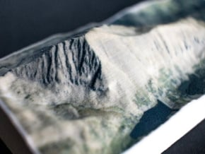 Quandary Peak, Colorado, USA, 1:50000 in Natural Full Color Sandstone