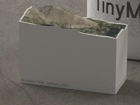 Quandary Peak, Colorado, USA, 1:100000 Explorer in Natural Full Color Sandstone
