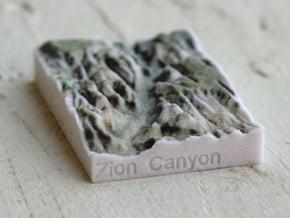 Zion Canyon, Utah, USA, 1:250000 Explorer in Full Color Sandstone