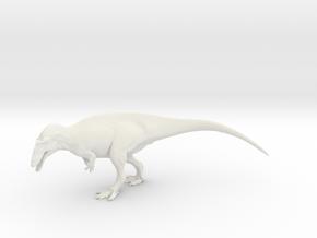 Acrocanthosaurus 1/72 scale in White Natural Versatile Plastic